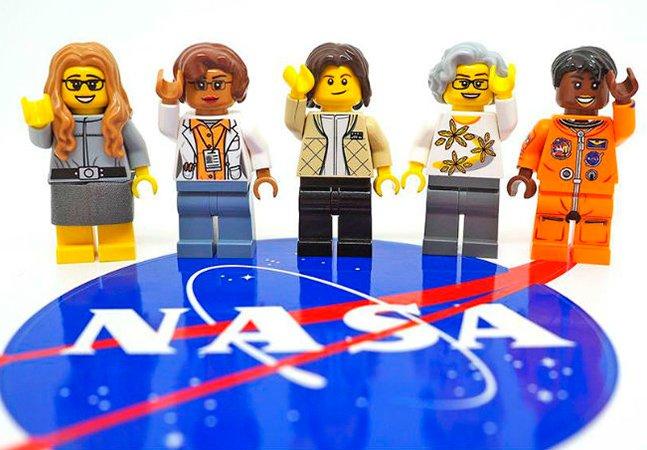 LEGO faz uma linda homenagem às mulheres da NASA