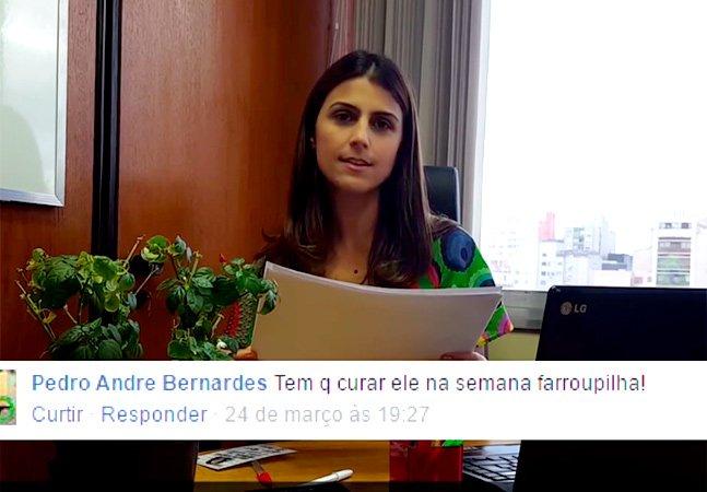Deputada gaúcha encontra forma criativa de combater homofobia: expondo ao ridículo