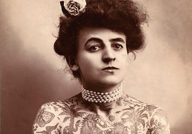 Conheça Maud Wagner, a primeira mulher tatuadora dos EUA
