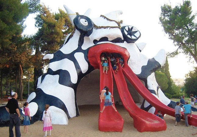 11 artistas que criaram playgrounds inacreditáveis; e tem Picasso na lista