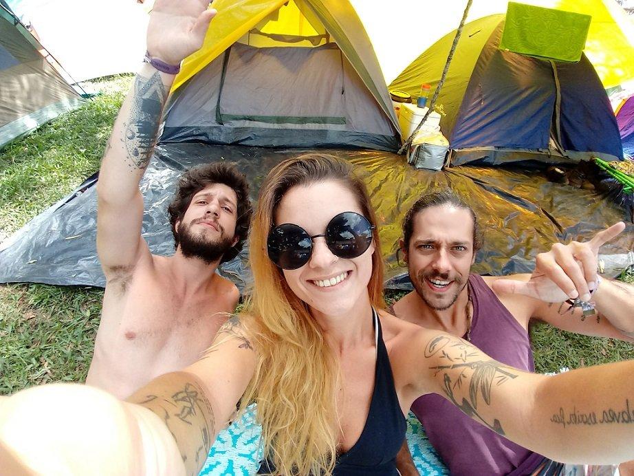 selfie galera nos 3