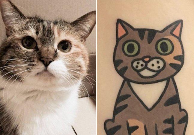Esta tatuadora transforma pets em homenagens muito fofas