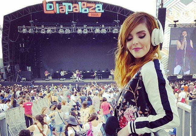 Apresentadora Titi Müller tem atitude incrível ao precisar anunciar atração machista do Lollapalooza