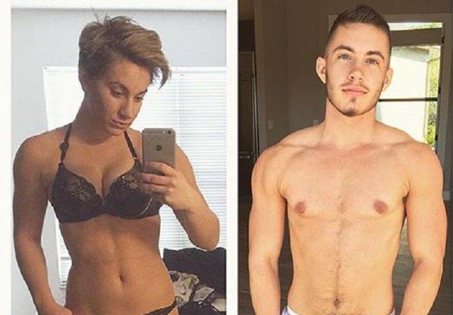 Jovem trans usa redes sociais para mostrar sua transformação física