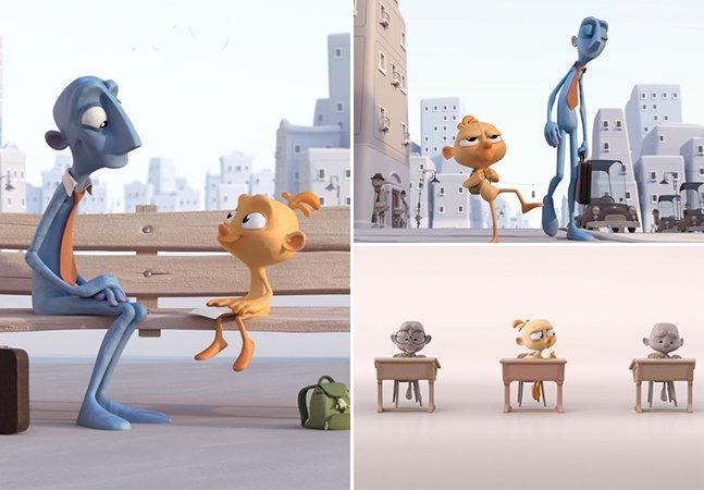 Animação tocante mostra como a sociedade mata nossa criatividade e imaginação