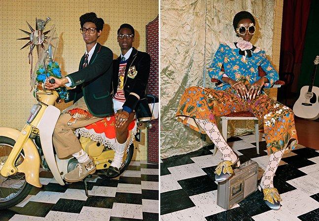 A nova campanha da Gucci só tem modelos negros e isso é maravilhoso