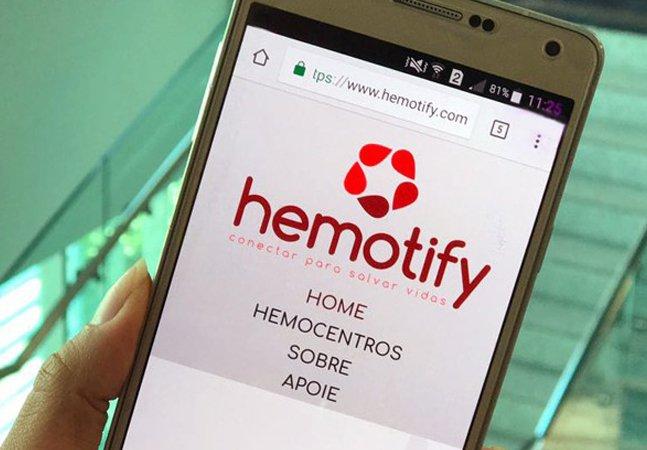 App conecta hemocentros a doadores de sangue usando o Facebook