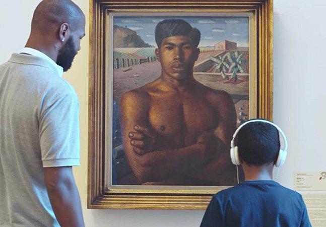 E se você pudesse conversar com obras de arte e perguntar qualquer coisa? Em São Paulo isso já é possível