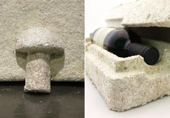 Ikea planeja trocar isopor das embalagens por um composto à base de cogumelo que se dissolve no seu jardim