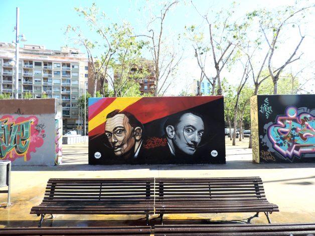 Jardins de les Tres Xemeneies - Barcelona