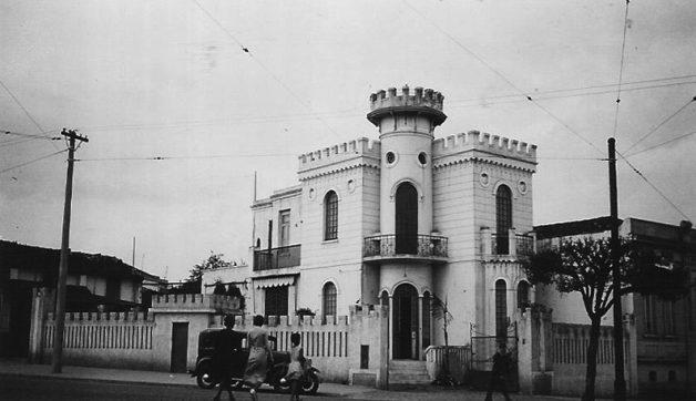 Castelinho na década de 30 (Foto: Reprodução)