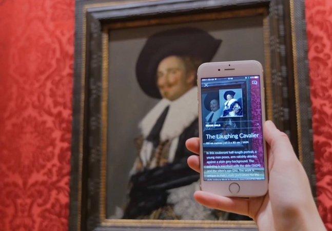 Parente do Shazam, este app reconhece obras de arte e oferece informações sobre quadros e esculturas