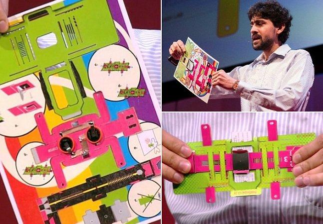Com pouco dinheiro e muito talento, ele criou um microscópio de papel que detecta malária e pode salvar vidas