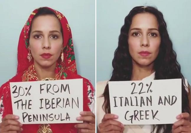 Ela fez um teste de DNA pra descobrir suas origens e o resultado é um hino à luta pela diversidade