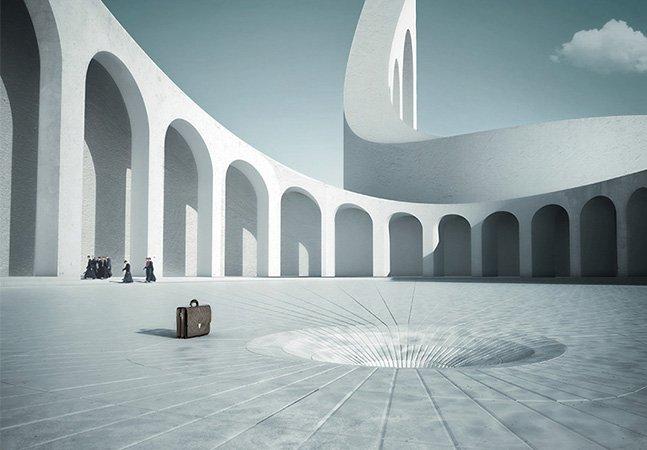 O minimalismo surrealista de Michele Durazzi