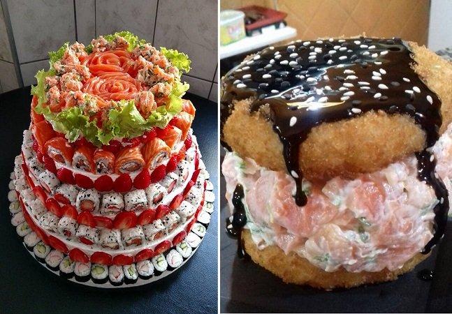 Sushi burguer, sushi cake, temaki de copo, mesa infinita; 8 maneiras diferentonas de comer japa