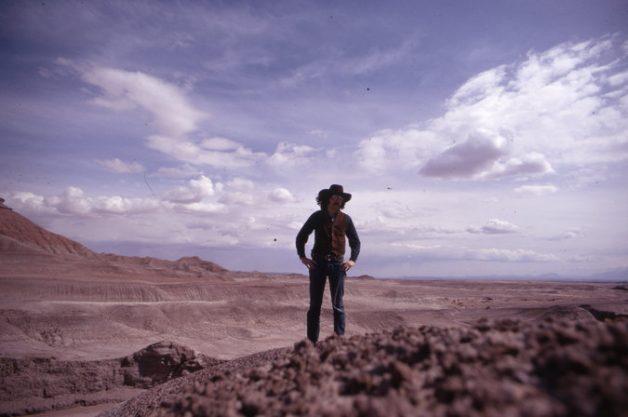 Wheeler no deserto do Arizona (Foto: Arquivo pessoal)