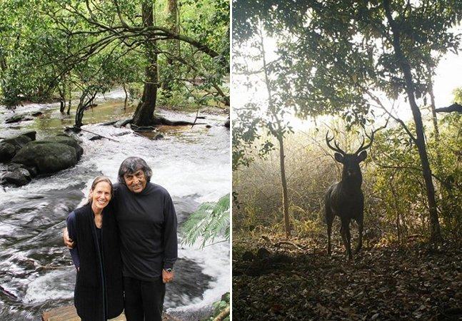 Casal passa 25 anos transformando um pedaço de terra árido em um paraíso de biodiversidade