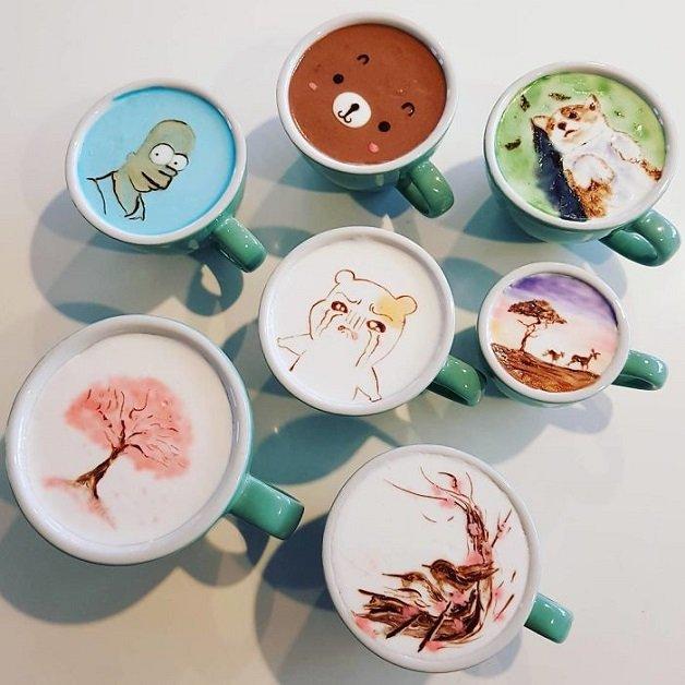 Artistic-barista-from-korea-who-draws-art-on-coffee-5912bec6c4aa2__700