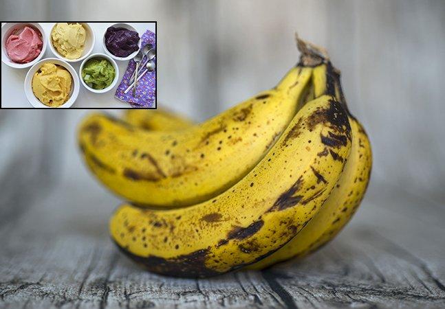 Os supermercados exigem bananas perfeitas, então eles usam as 'imperfeitas' para fazer maravilhosos sorvetes