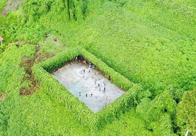 O campo de futebol mais isolado do mundo está a 3 horas de carro de qualquer lugar