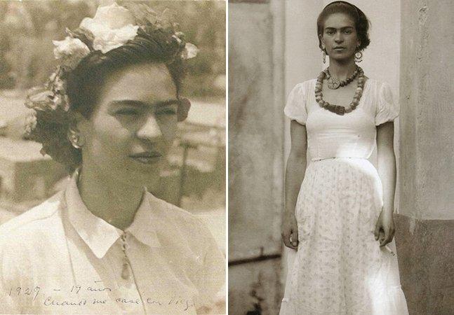 Série de fotos dos anos 20 mostra Frida Kahlo na infância