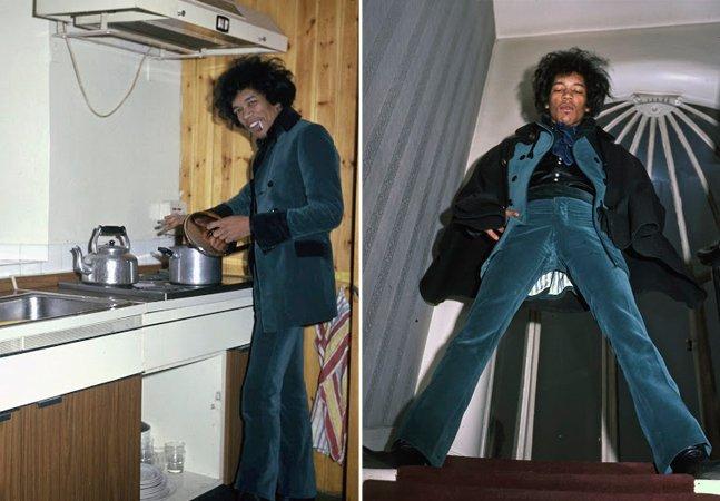 Fotografias raras mostram o período em que Jimi Hendrix alugou o apê de Ringo Starr