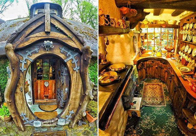 Homem fascinado pela saga 'O Senhor dos Anéis' cria sua própria casa ao melhor estilo hobbit