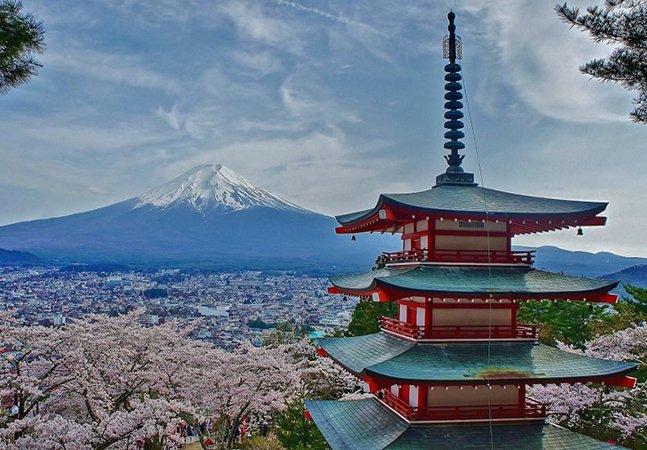 Esses lugares vão colocar o Japão no topo da sua lista de desejos de viagem