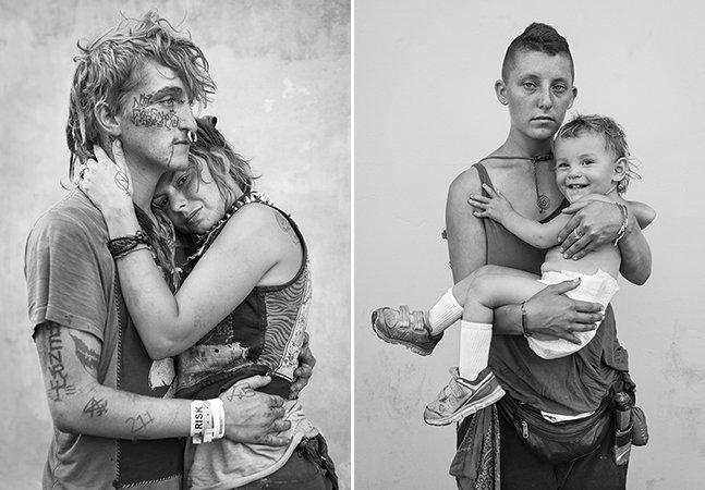 Fotógrafo capta a subcultura dos nômades do século 21, que chamam à estrada a sua casa
