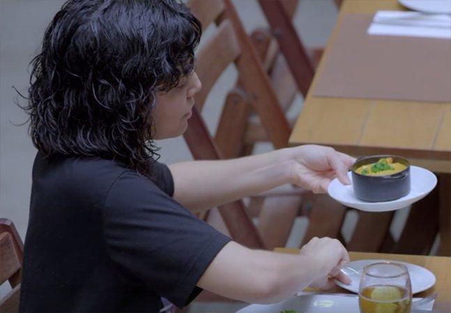 Tudo que ela queria era a comida da mãe, que mora longe – e uma surpresa lhe esperava em um restaurante