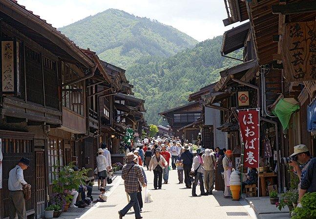 Por que você precisa fazer o Nakasendo, o centenário caminho das montanhas no Japão