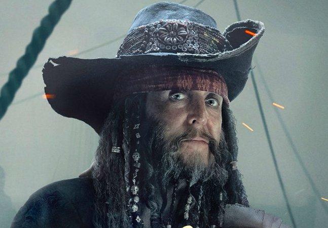 Primeira foto de Paul McCartney no novo Piratas do Caribe é divulgada