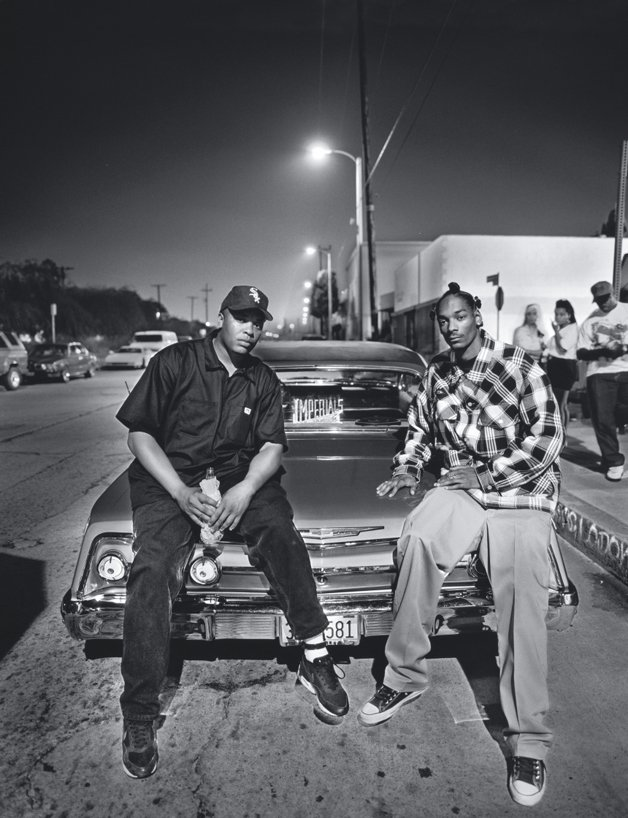 RS50_Dr. Dre and Snoop Dogg, Mark Seliger, 1993