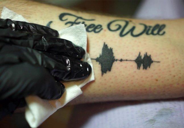 Ouvir desenhos na pele? Sim, as tatuagens sonoras já são uma realidade