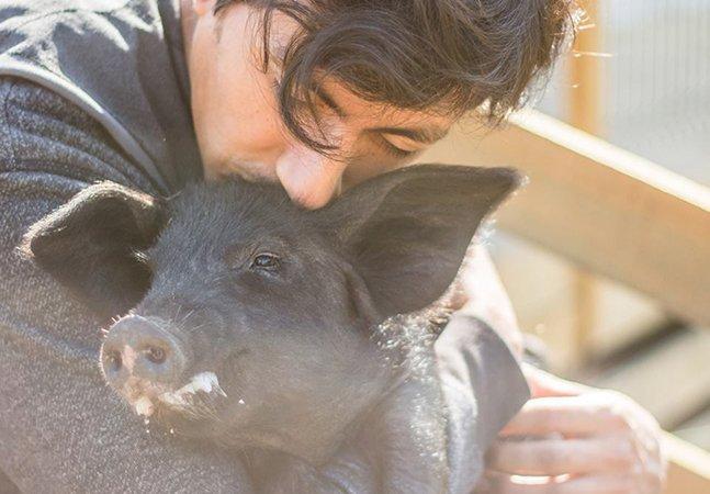 Santuário no Chile usa beijos e abraços para devolver o amor a animais resgatados