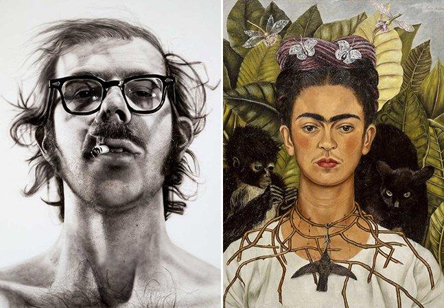 Antes da moda das selfies, esses artistas souberam imortalizar suas figuras com autorretratos icônicos