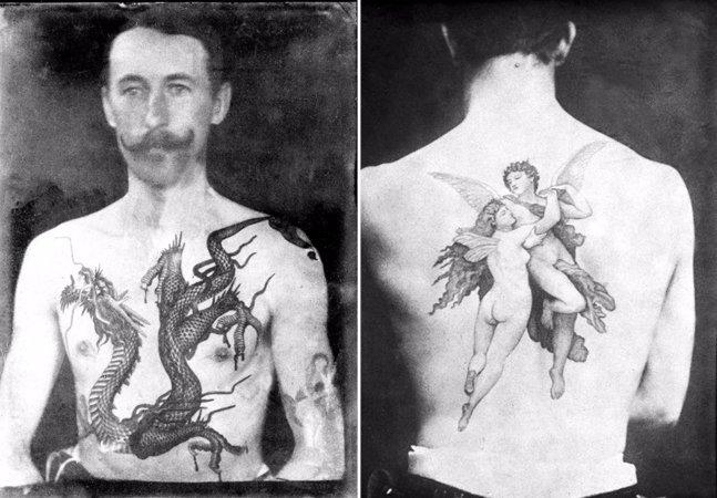 Fotos incríveis mostram o trabalho do primeiro tatuador britânico ainda na era Vitoriana