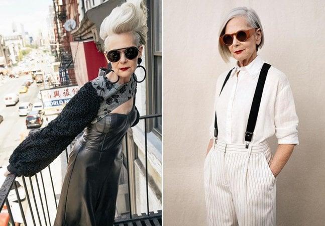 Confundiram essa professora de 63 anos com uma modelo fashion e isso acabou mudando sua vida