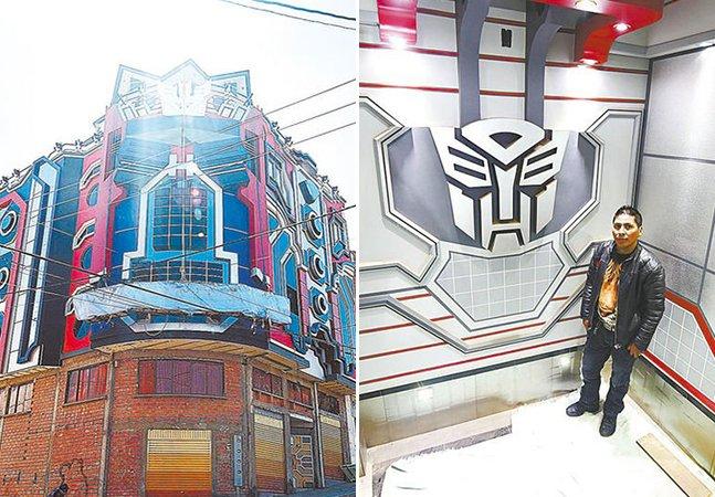 Construtor usa arquitetura inovadora pra criar casas inspiradas em 'Transformers' e faz sucesso