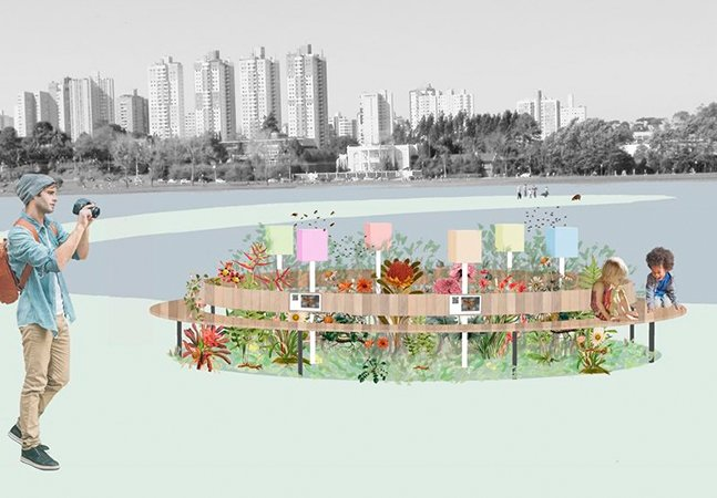 15 parques de Curitiba vão ganhar Jardins de Mel com abelhas nativas