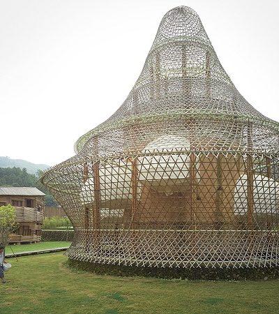 Veja o que rolou na primeira Bienal de Arquitetura de Bambu