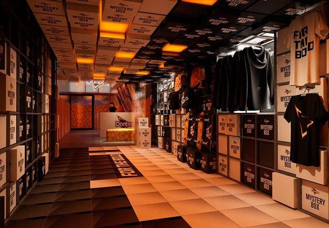 A loja misteriosa que abriu em SP terá festas gratuitas durante todo o mês de maio