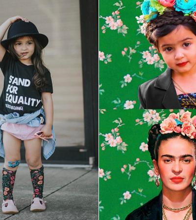 Girl Power: Menina faz sucesso ao recriar fotos de  seus ídolos femininos