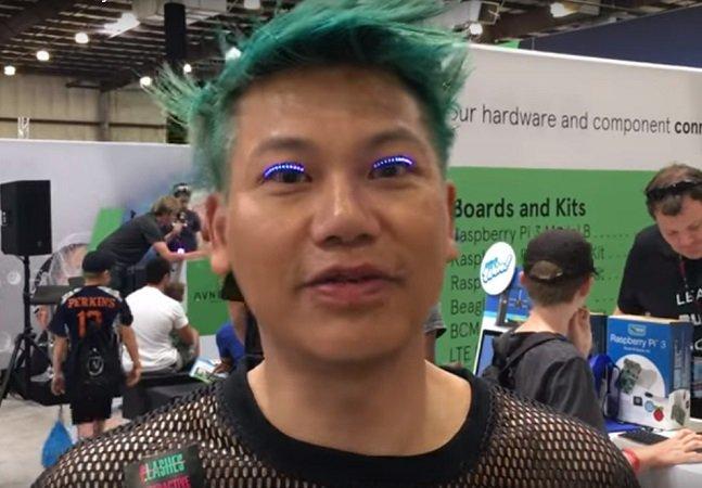 Os cílios de LED são o futuro da maquiagem e já estão fazendo sucesso
