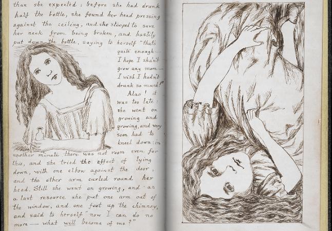 Biblioteca disponibiliza os incríveis manuscritos de Da Vinci, Jane Austen e Lewis Carroll