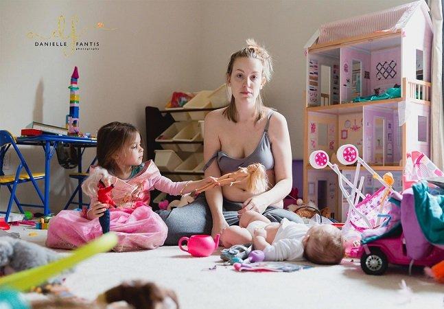 Mãe dá testemunho poderoso sobre como é passar por uma depressão pós-parto