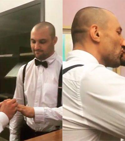 O vídeo de casamento de um ex-lutador de MMA é um ótimo passo no combate à homofobia no esporte