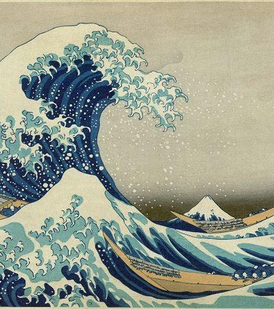 O pintor e gravurista japonês Katsushika Hokusai fez muito mais do que a famosa onda de Kanagawa
