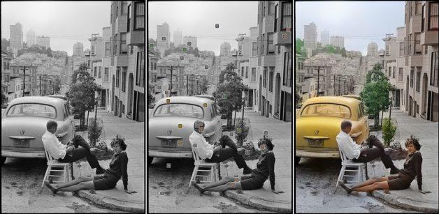 Foto original: Henri Cartier-Bresson